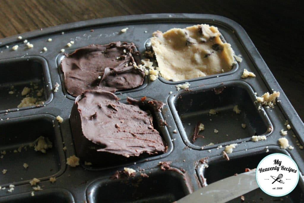 Chocolate Chip Cookie Dough Klondike Bars