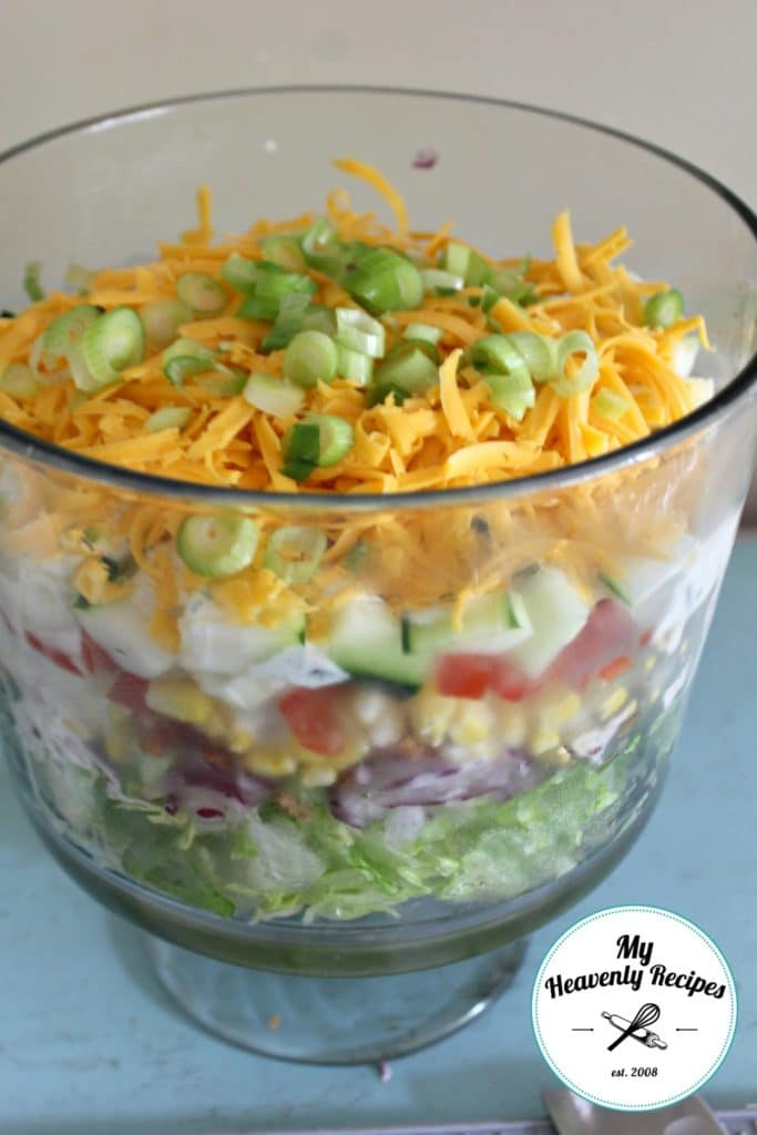 7 Layer Salad My Way