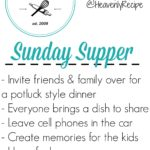 Sunday Dinner Invitations