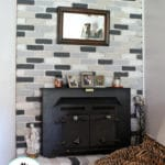 Chalk Paint Fireplace Makeover