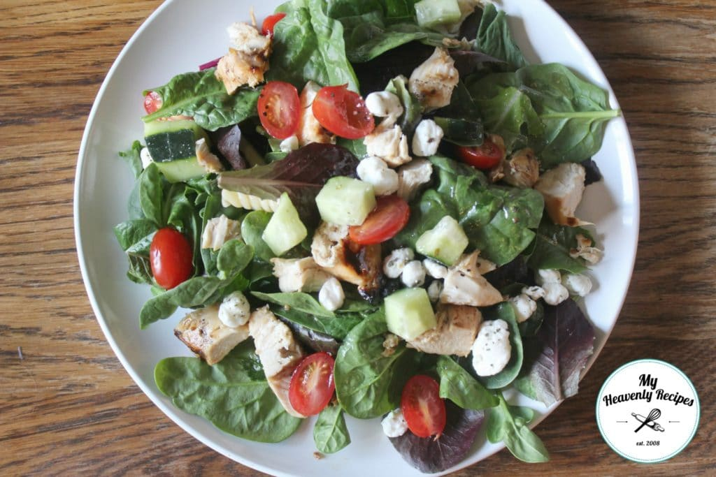 Chicken Salad with Goat Cheese is a quick and easy lunch recipe that's full of flavor.