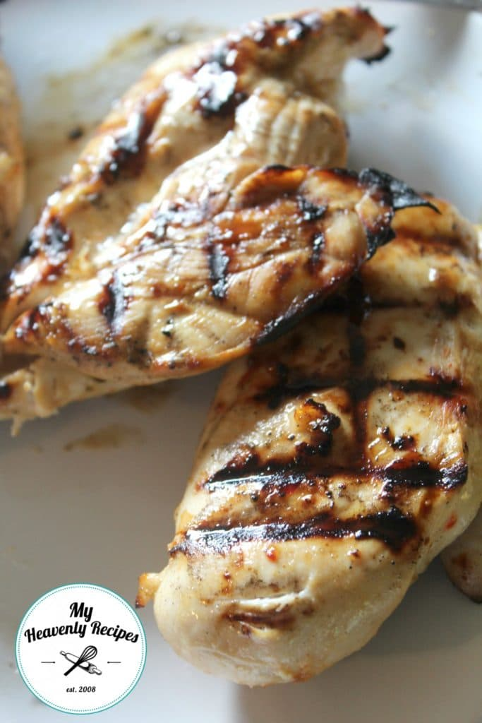 Using leftover grilled chicken is a quick way to enjoy this grilled chicken salad recipe for lunch.