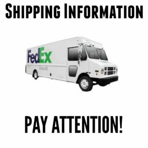 Pampered Chef Party Shipping Information