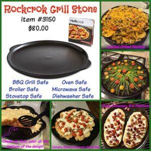 Rockcrok Grill Stone
