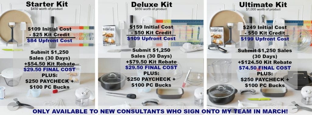 New Spring Consultant Kits