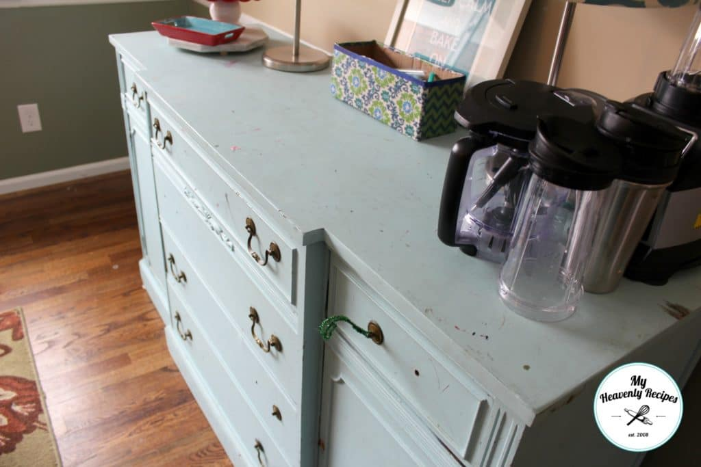 farmhouse-buffet makeover - before the transformation