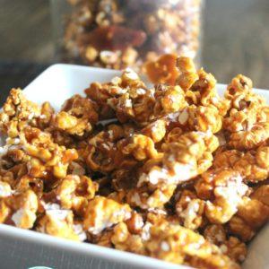 Homemade Caramel Popcorn + Video