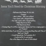 Christmas Morning Basket - Must Have Items for Gift Opening
