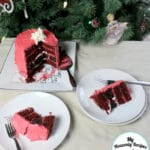 Easy Christmas Cake: Santa's Belt + Video