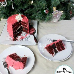 Easy Christmas Cake: Santa's Belt + Video