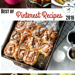 Best of Pinterest Recipes 2016