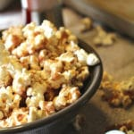 Cinnamon and Sugar Popcorn Vertical