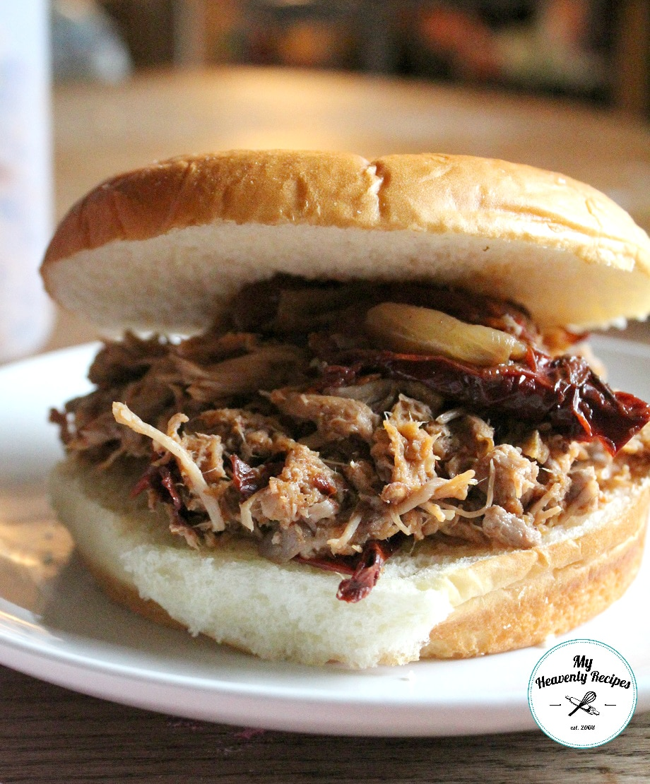 pulled pork crock pot recipe spicy crock pot pulled pork my heavenly recipes 10836