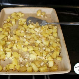 The Best Roasted Potatoes and Onions