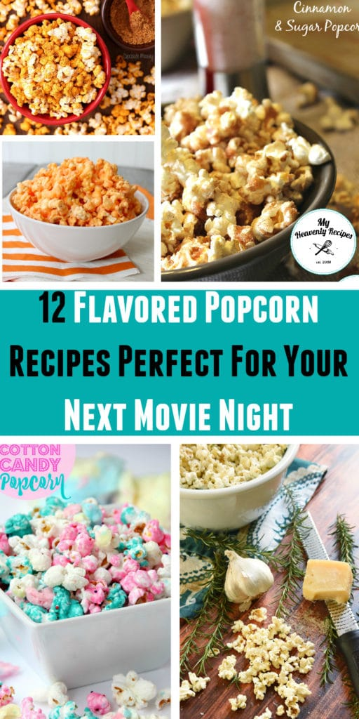 12 Flavored Popcorn Recipes Perfect For Your Next Movie Night