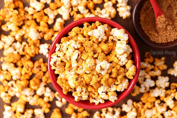 Chili Cheese flavored popcorn recipe