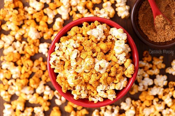 Chili Cheese flavored popcorn recipe