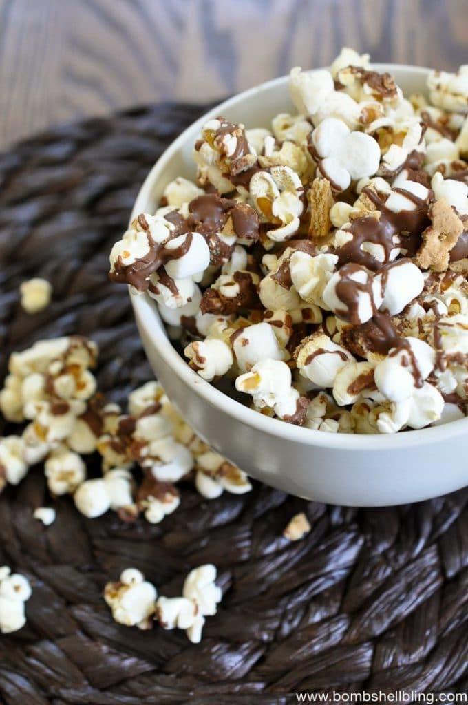 Smores Flavored Popcorn Recipe