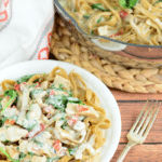 One Pot Creamy Chicken Tuscan Pasta + Video