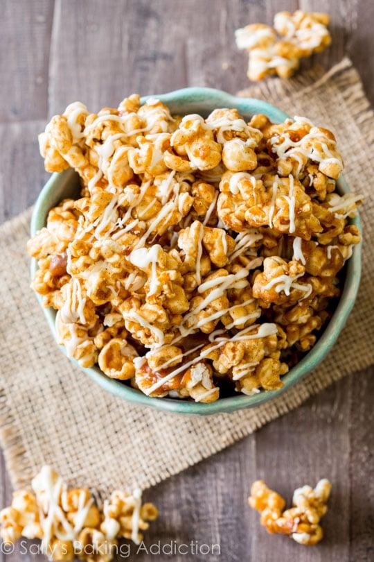 cinnamon caramel flavored popcorn recipe