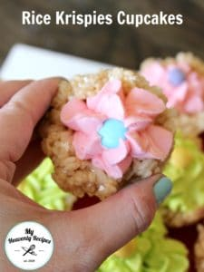 Rice Krispies Cupcakes Featured