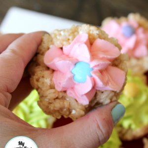 Rice Krispie Cupcakes + Video