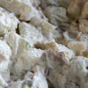 Cold Potato Salad + Video