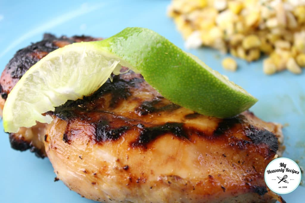 Grilled Honey Chicken Breast