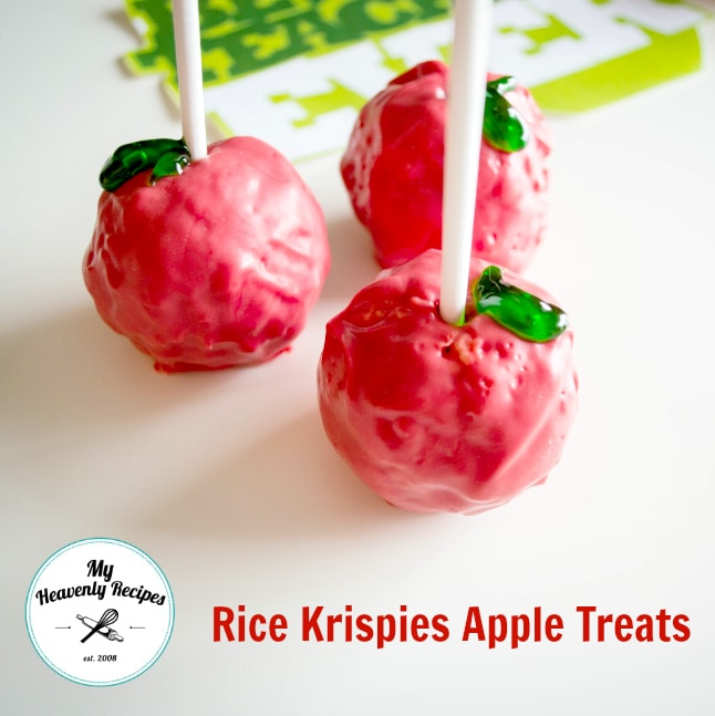 Rice Krispies Apple Treats 1
