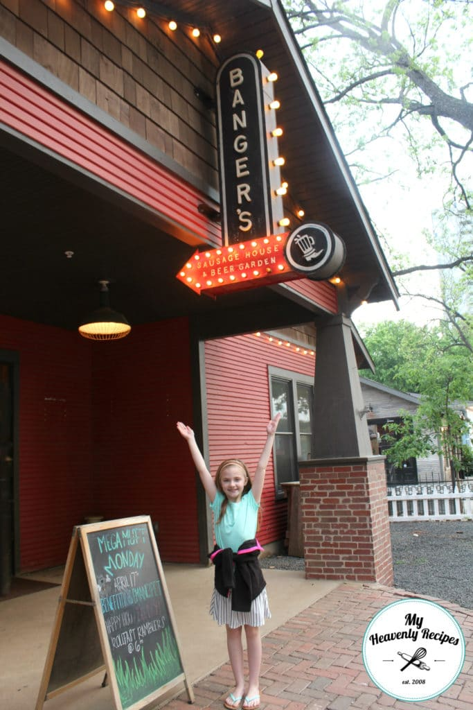 Bangers sausage house and beer garden places to visit in austin texas