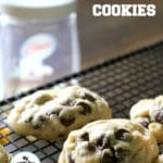 Coconut Oil Chocolate Chip Cookies + Video