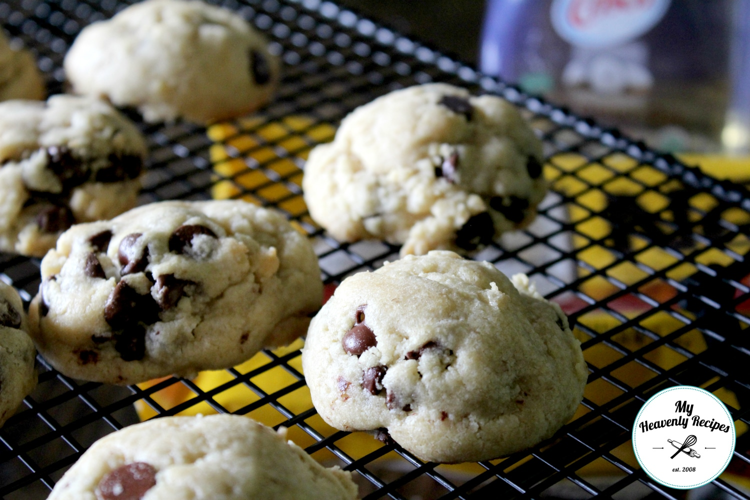 Coconut Oil Chocolate Chip Cookies My Heavenly Recipes