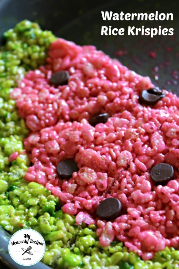 watermelon rice krispies vertical