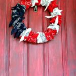 American Flag Bandana Wreath + Video
