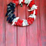 American Flag Bandana Wreath + Video