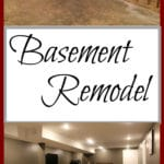 Our Year Long DIY Basement Remodel