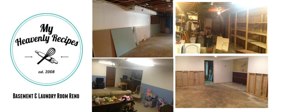 Our DIY Basement Reno is now complete. The before and after pictures still blow my mind!