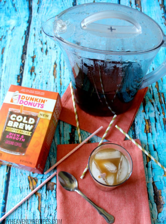 Dunkin Donuts Cold Brew Coffee Pitcher Brew is enjoyable all week long!