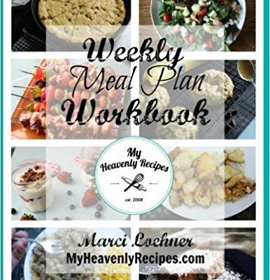 The Weekly Meal Planner workbook is a must for all moms. If you aren't using this weekly meal planner you are missing out!