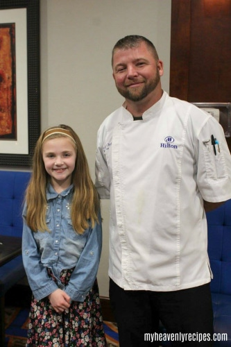 Chef Mike at Brazo's in the Hilton is one of those places to visit in Waco, Texas.
