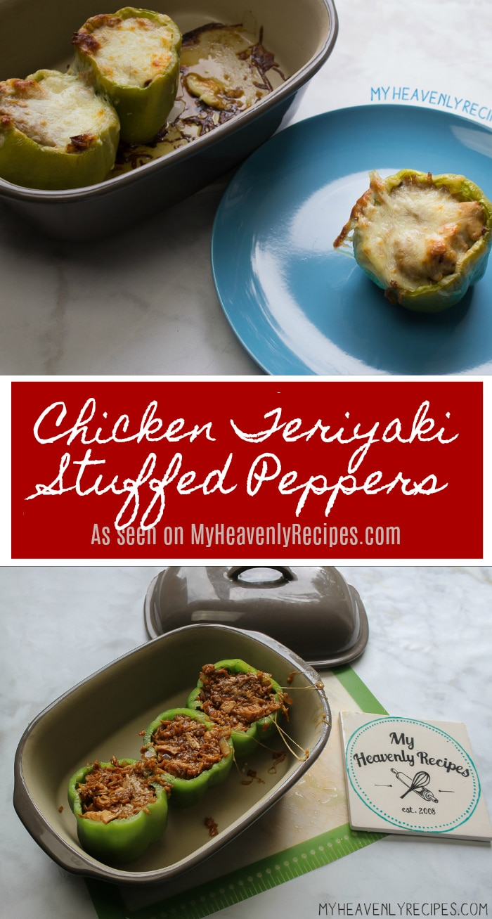 Gather your family around the dinner table tonight with these Chicken Teriyaki Stuffed Peppers.