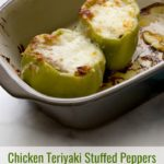 Chicken Teriyaki Stuffed Peppers