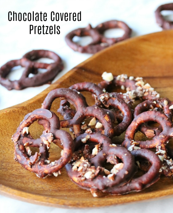 Chocolate Covered Pretzels Feature