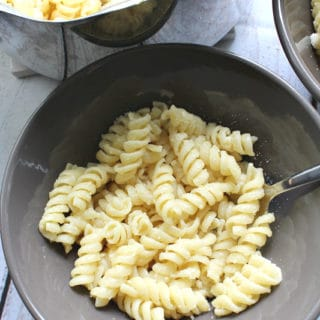Parmesan Buttered Noodles + Video