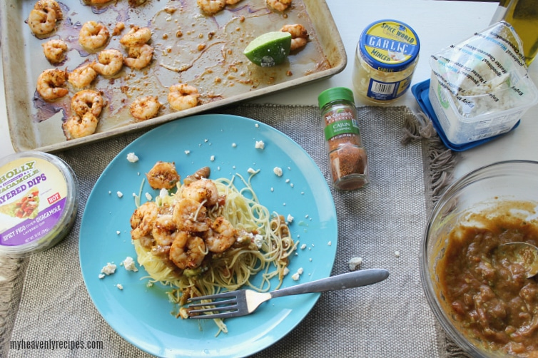 Just a few ingredients and 20 minutes of time. You'll have this Spicy Shrimp Pasta recipe for your family to enjoy!