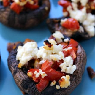 Stuffed Mushrooms (Two Ways) + Video
