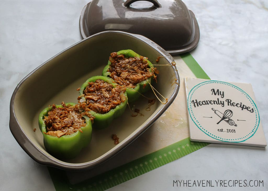 Chicken Teriyaki Stuffed Peppers are delicious and perfect a perfect freezer meal recipe.
