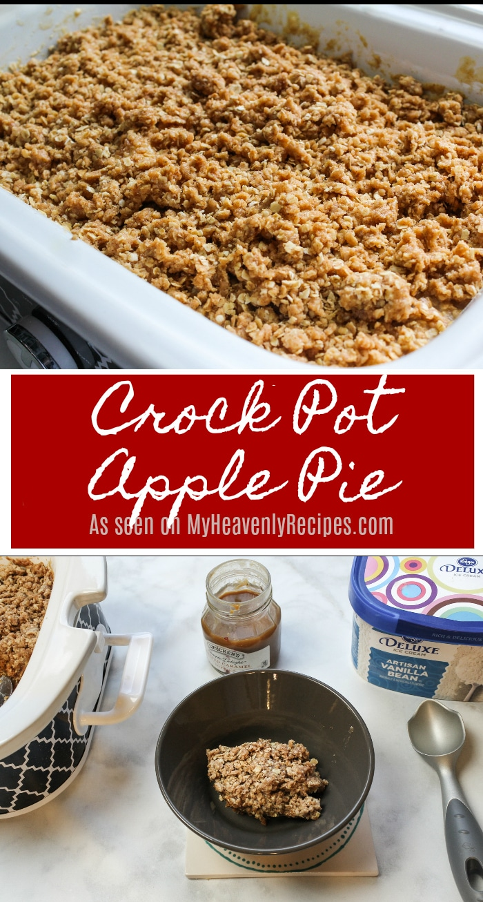 This Crock Pot Apple Pie Dumpling Cake is a spin on a dump cake, apple pie & apple crisp all rolled into one! To say it's the perfect fall dessert recipe is an understatement!