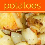 foiled potatoes pinterest image