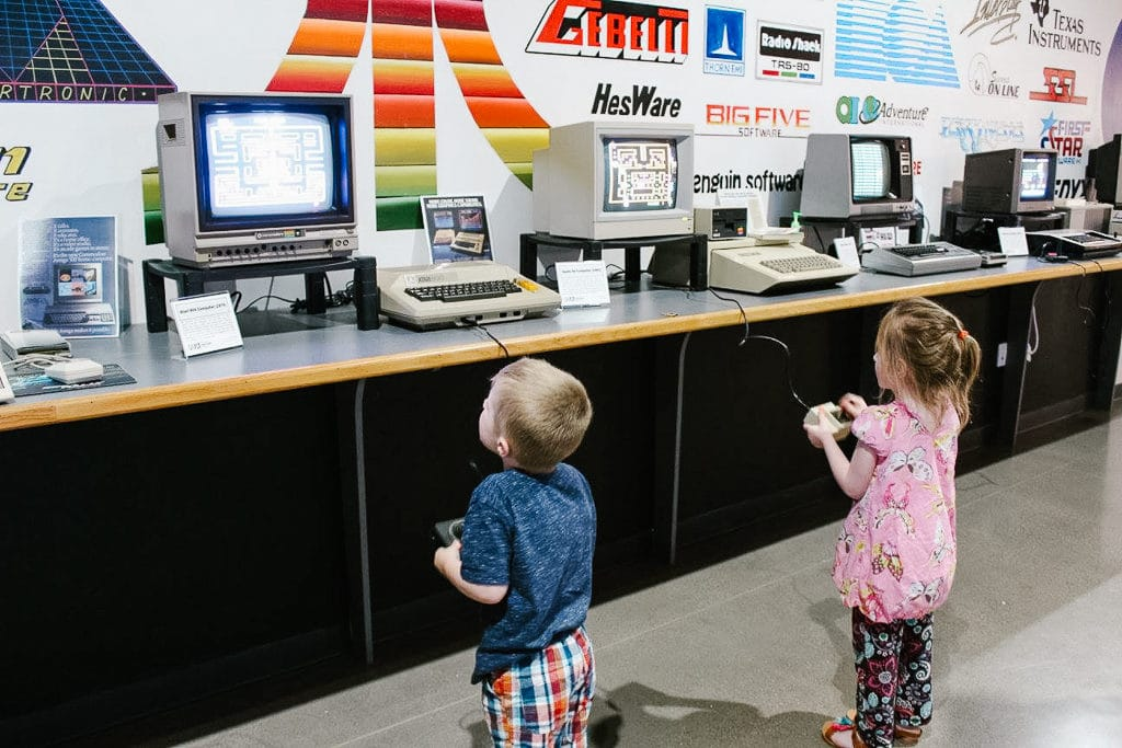 The National Video Game Museum is a top one of our places to visit in Frisco, Texas! It's fun for kids of all ages!